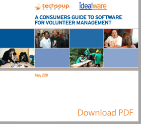 A Consumers Guide to Software Volunteer Management PDF image