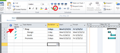 Screenshot - Group similar tasks into phases