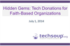 Hidden Gems: Tech Donations for Faith-Based Organizations