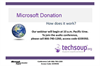 Microsoft Donation Program: How Does It Work?