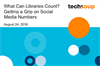 What Can Libraries Count? Getting a Grip on Social Media Numbers