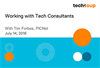 Working with Tech Consultants