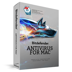 Bitdefender Antivirus for Mac, 3 Users