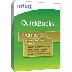 Intuit QuickBooks Premier Editions 2013, 3 User Licenses (Special Offer)
