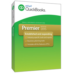 QuickBooks Premier Editions 2016, 1 User License (Includes Nonprofit Edition)
