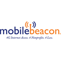 Single Device for Mobile Beacon 4G Internet Service for Nonprofits